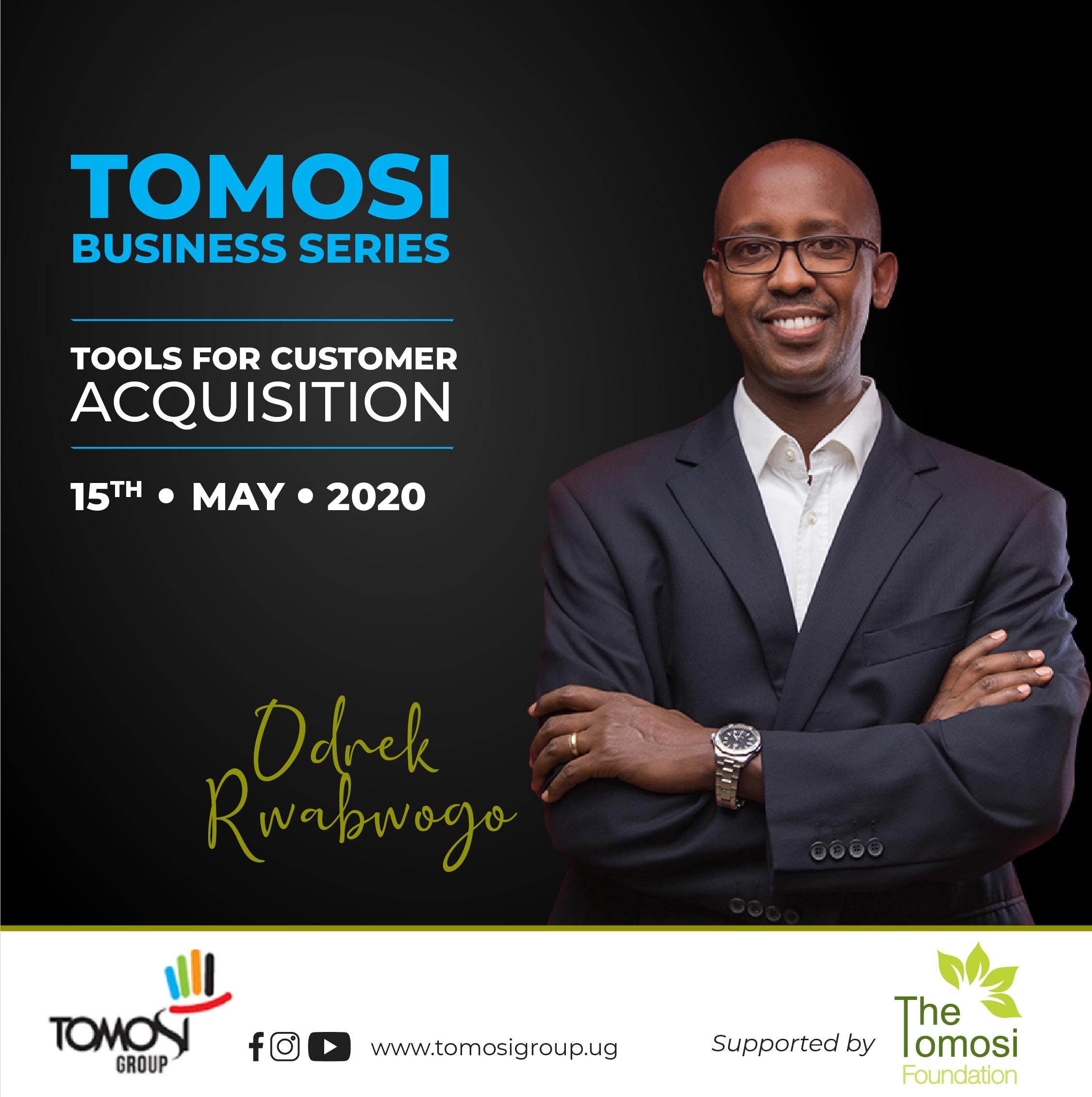 Tomosi Business Series upcoming training