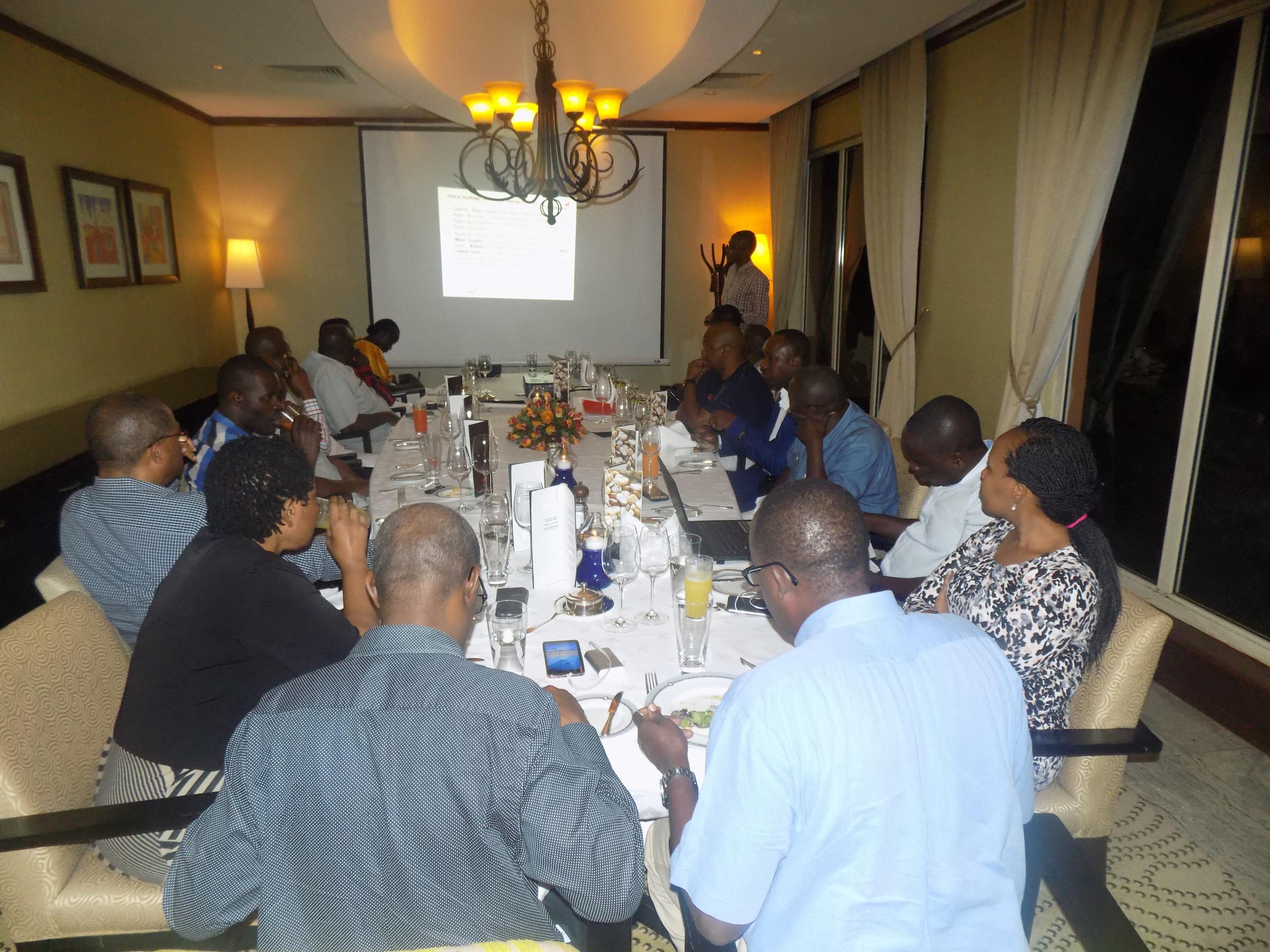 TERP Media Hosts TPA Delegation To Business Dinner In Kampala