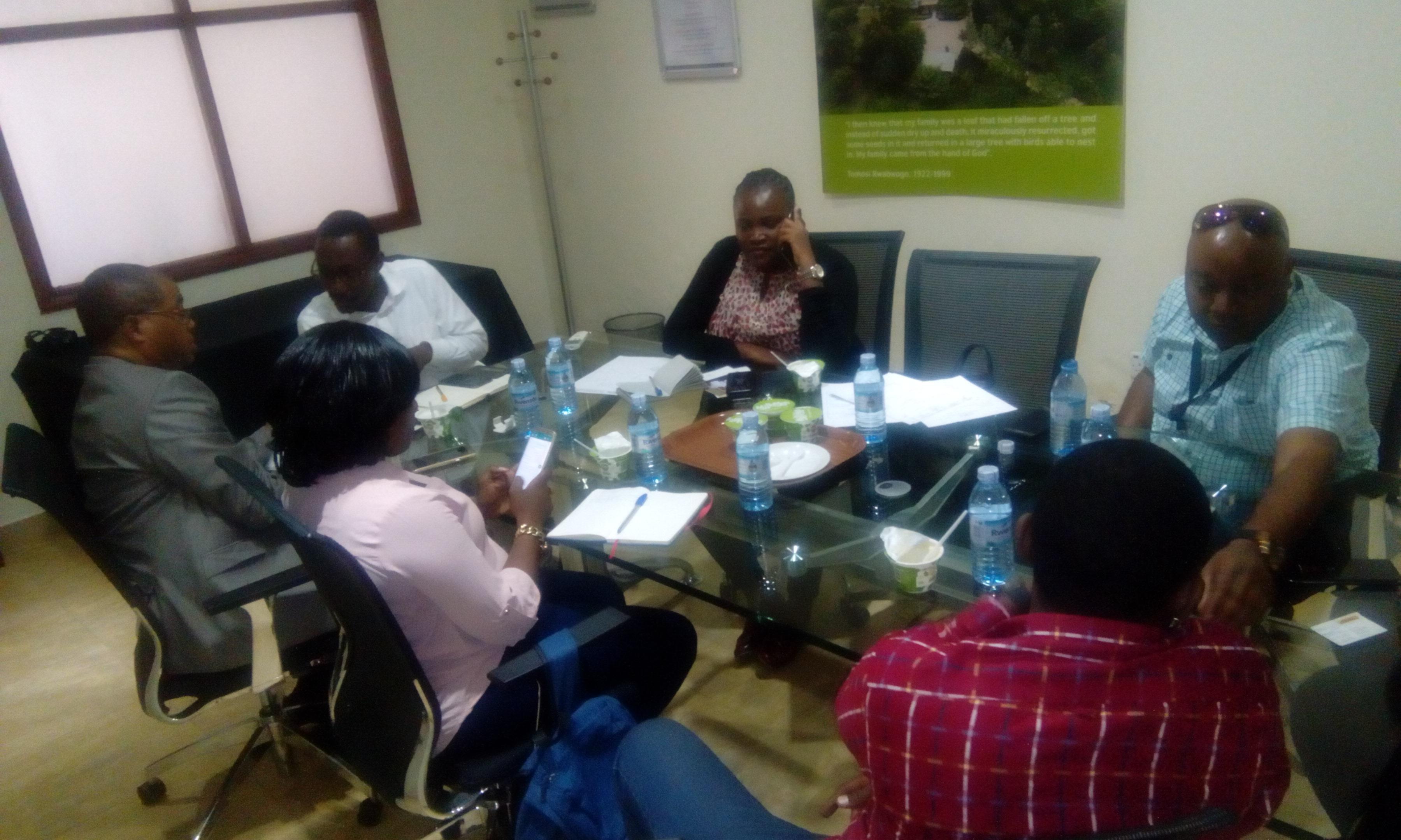 Tanzania Freighters Visit TERP Media